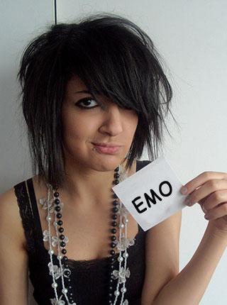 Wondrous Emo Short Hairstyles Gunalazisus